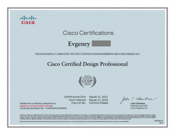 Cisco Certified CCDP