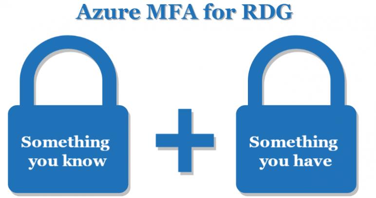 Azure MFA for RDG