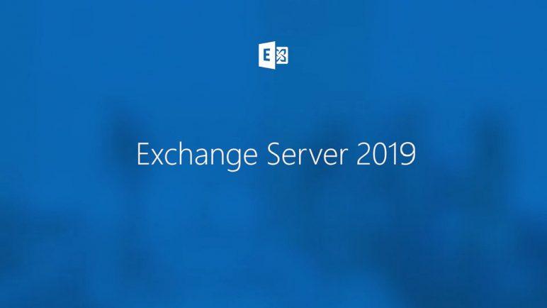Exchange Server 2019