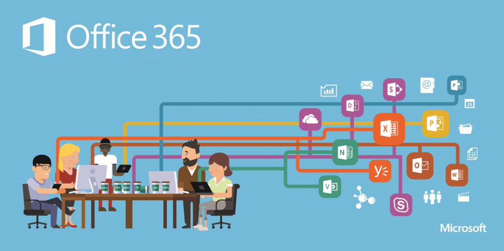 business meeting about office 365